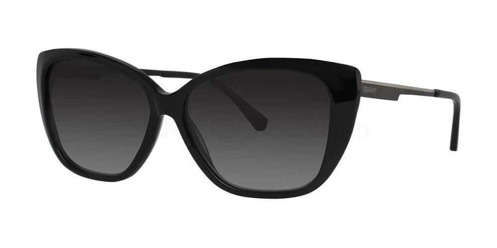 Black V442 Sunglasses, Vera Wang