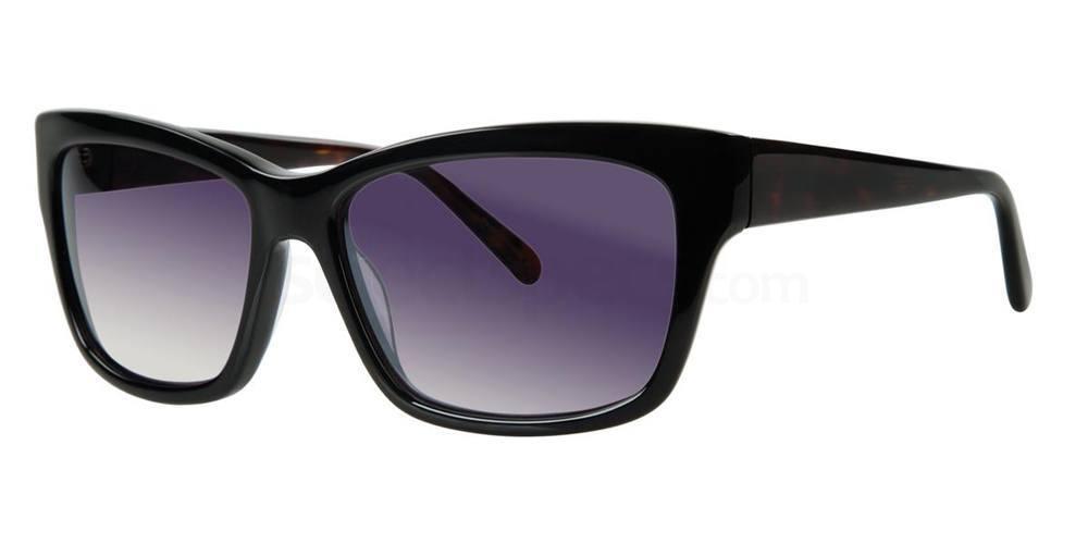 Black ABRIANA Sunglasses, Vera Wang
