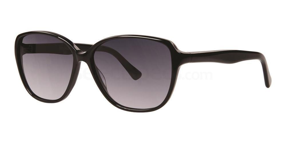 Black FREDERICA Sunglasses, Vera Wang