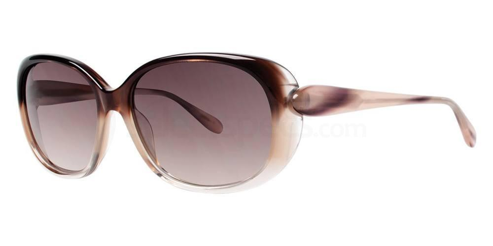 Brown Gradient IZZY Sunglasses, Vera Wang