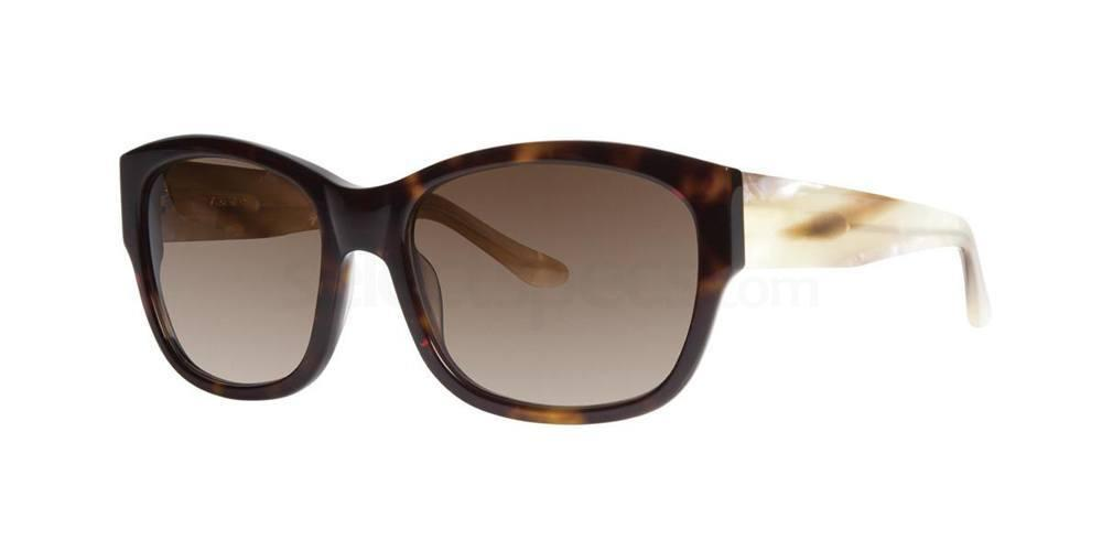 Tortoise MARGAUX Sunglasses, Vera Wang