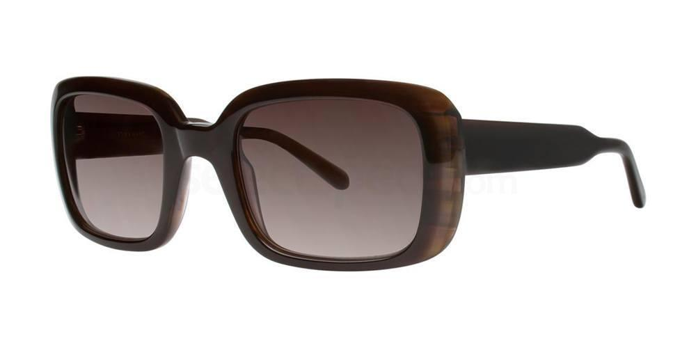 Brown ROSALIE Sunglasses, Vera Wang