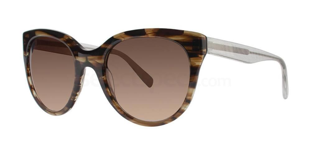 Matte Black TANITH Sunglasses, Vera Wang