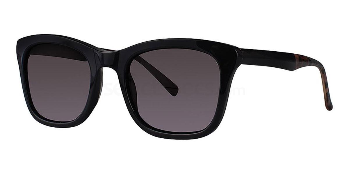 Black V459 Sunglasses, Vera Wang