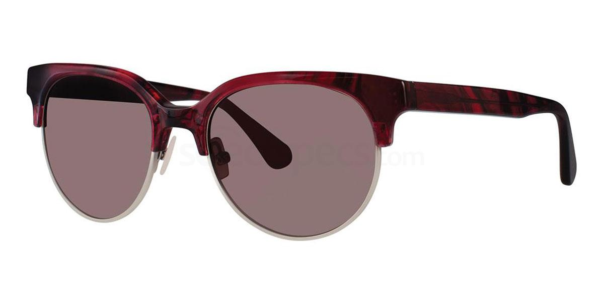 Garnet Tortoise V462 Sunglasses, Vera Wang