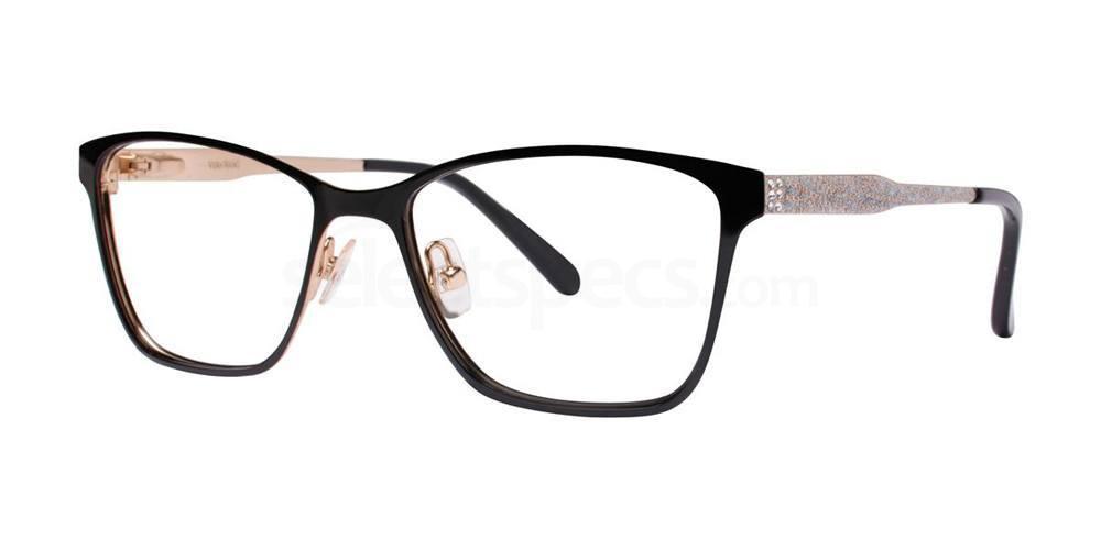 Black ALVA Glasses, Vera Wang Luxe