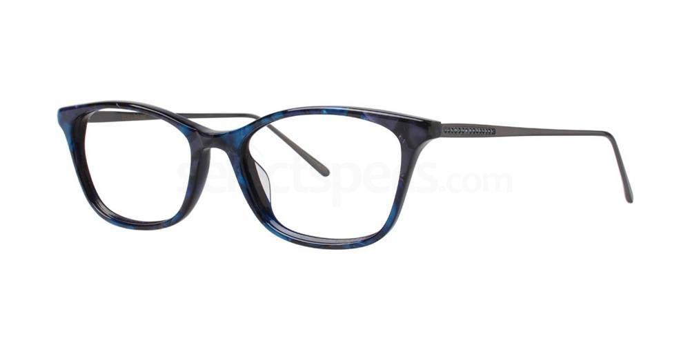 Navy ANTLIA Glasses, Vera Wang Luxe