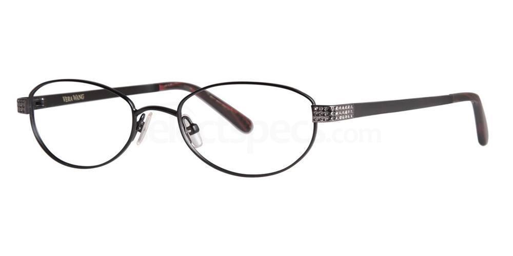 Black Satin ARA Glasses, Vera Wang Luxe