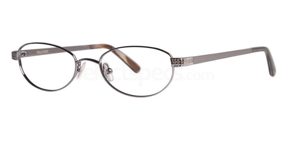 Gunmetal ARA Glasses, Vera Wang Luxe