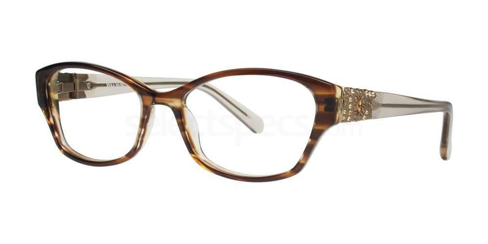 Brown AUDE Glasses, Vera Wang Luxe