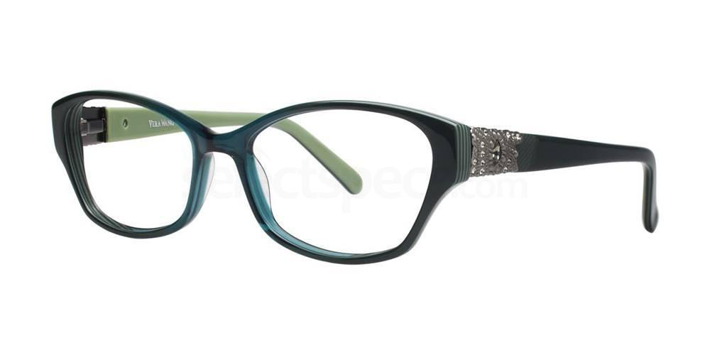 Teal AUDE Glasses, Vera Wang Luxe