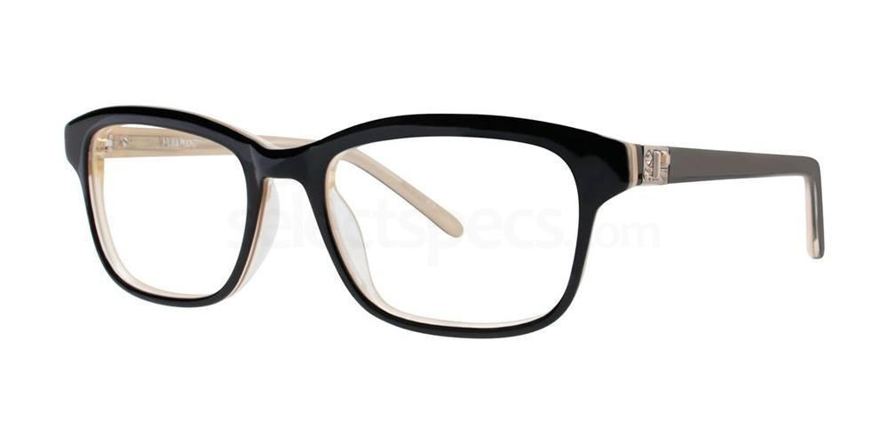 Black/Gold AXELLE Glasses, Vera Wang Luxe