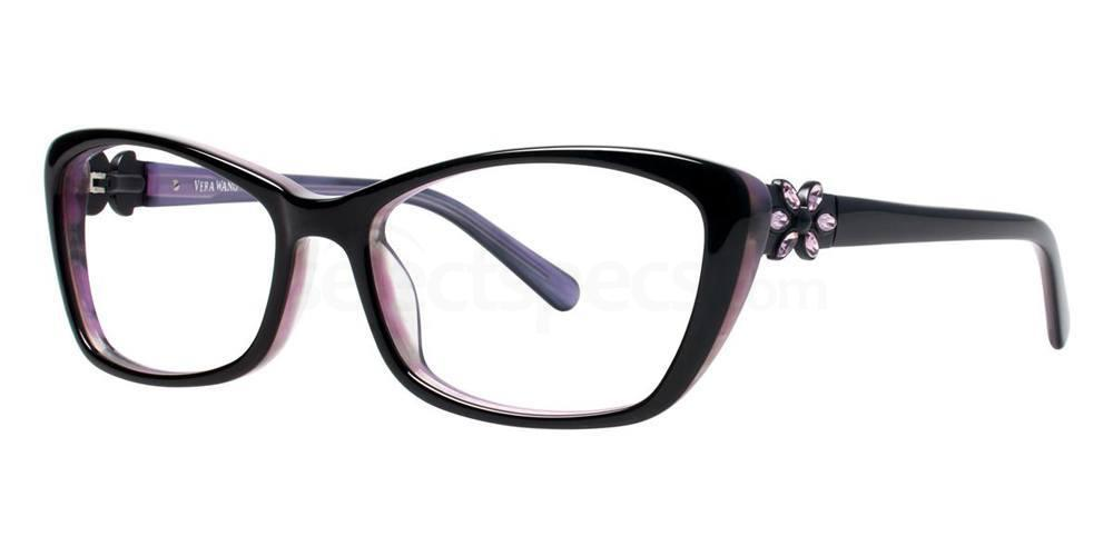 Black CHATOYANT Glasses, Vera Wang Luxe