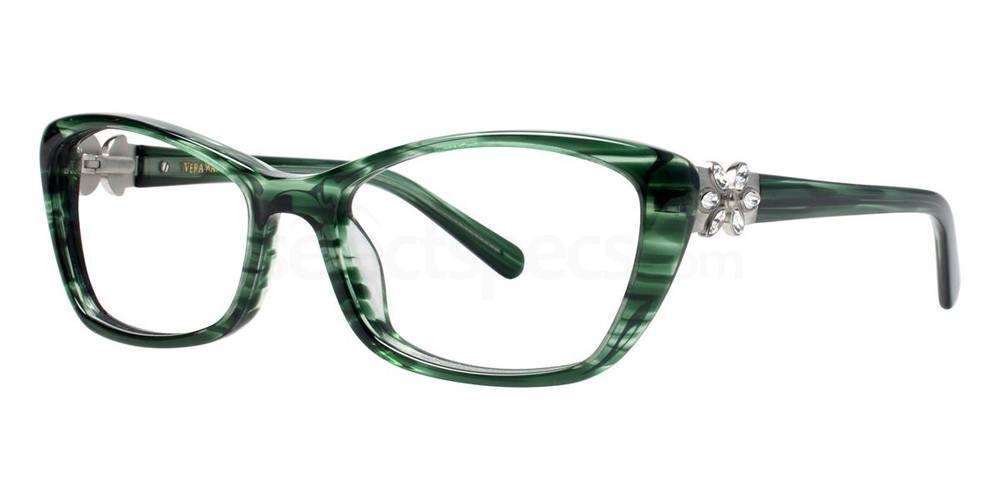 Emerald CHATOYANT Glasses, Vera Wang Luxe