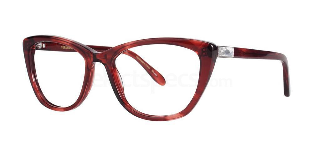 Red DEA Glasses, Vera Wang Luxe
