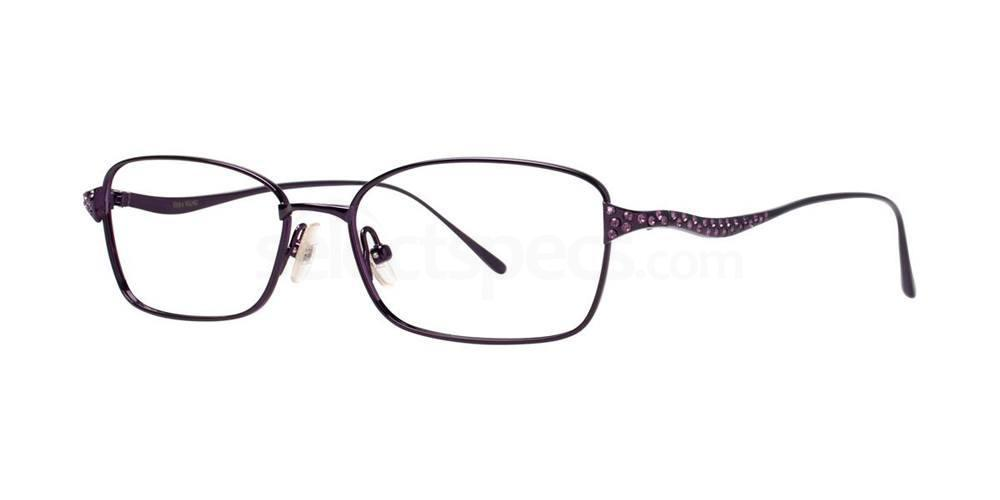 Amethyst DIVETTA Glasses, Vera Wang Luxe