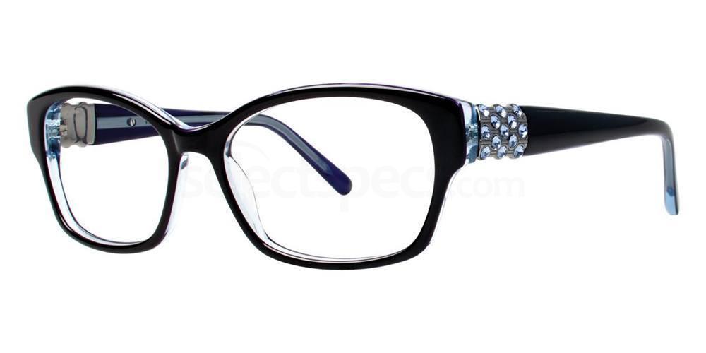 Black EVOCATIVE Glasses, Vera Wang Luxe