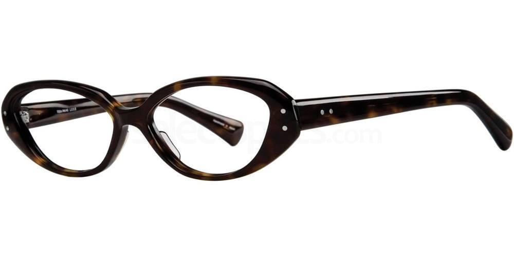 Dark Tortoise DAHL Glasses, Vera Wang Luxe