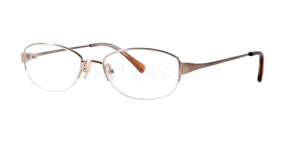 Gold IRIDESCENCE Glasses, Vera Wang Luxe