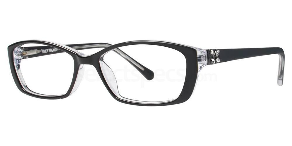 Black LISSOME Glasses, Vera Wang Luxe