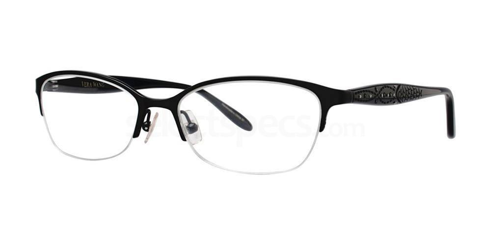 Black MARCELINE Glasses, Vera Wang Luxe