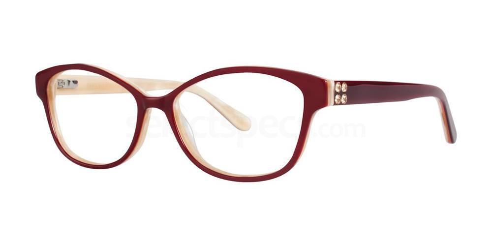 Burgundy MAZZOLI Glasses, Vera Wang Luxe