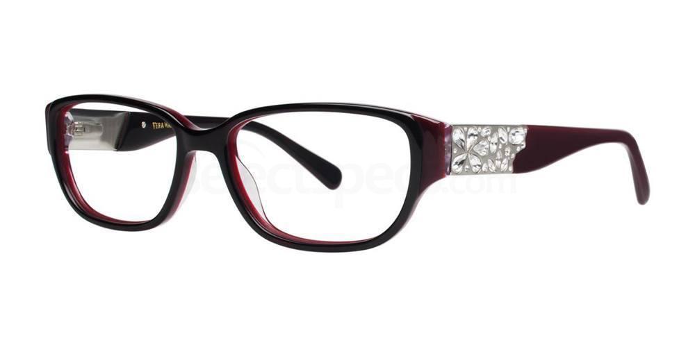 Burgundy Tortoise MEDEA Glasses, Vera Wang Luxe