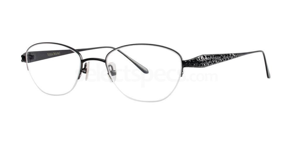 Black MELITA Glasses, Vera Wang Luxe