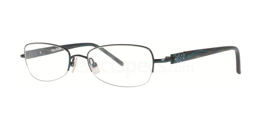 Teal ORBITE Glasses, Vera Wang Luxe