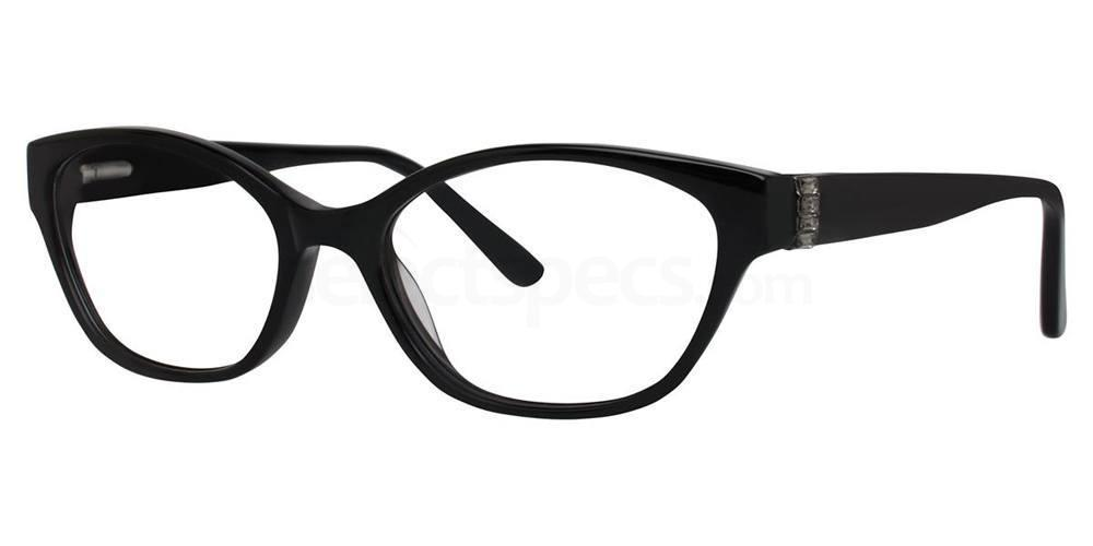 Black RAINA Glasses, Vera Wang Luxe