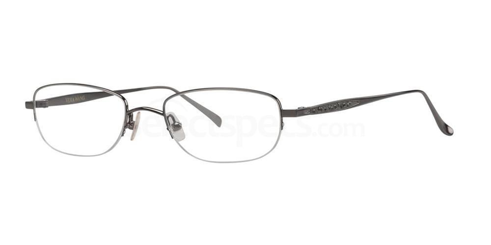 Gunmetal REALTA Glasses, Vera Wang Luxe