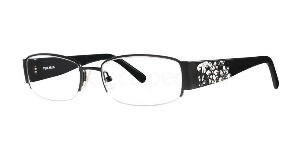 Black GARLAND Glasses, Vera Wang Luxe