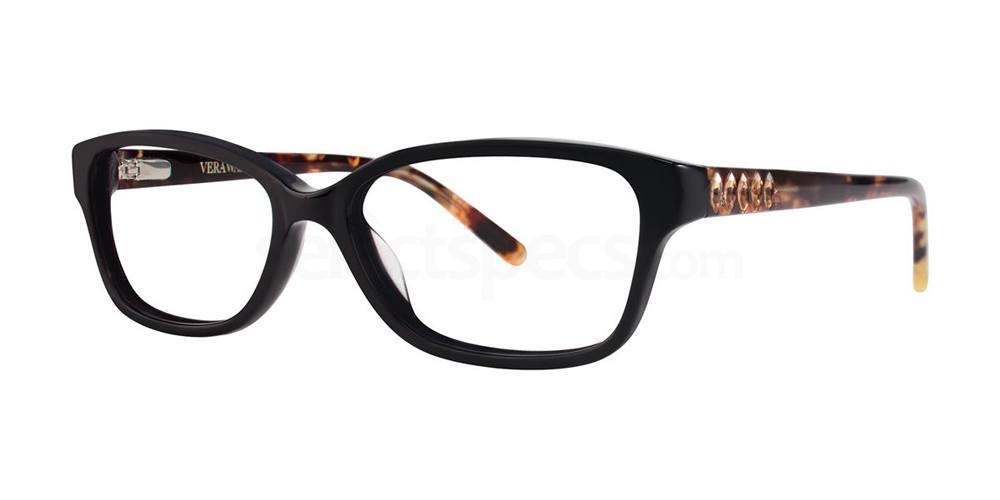 Black MELLA Glasses, Vera Wang Luxe