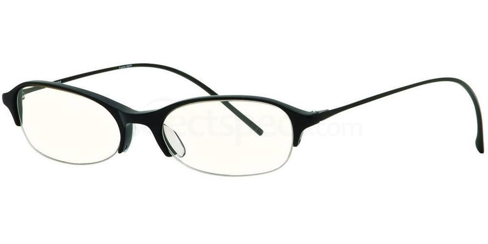 Black MODERNIST Glasses, Vera Wang Luxe