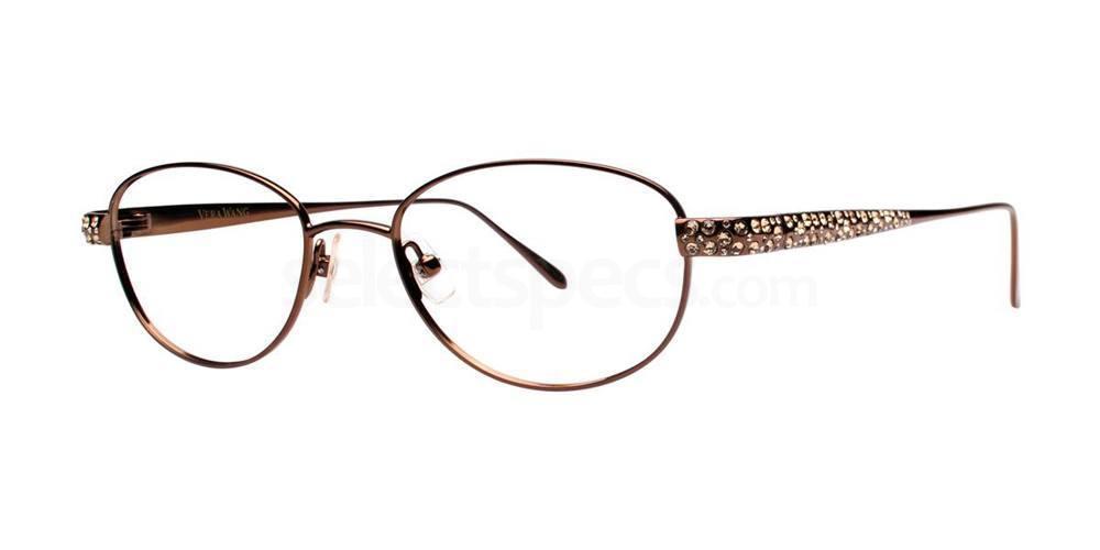 Chocolate LYRA Glasses, Vera Wang Luxe