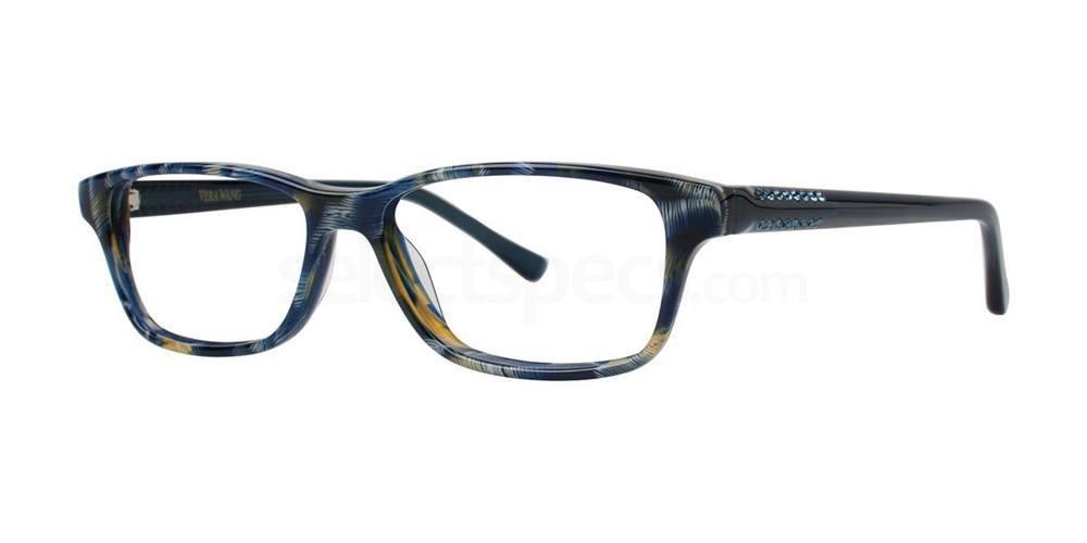 Blueberry SAGATTA Glasses, Vera Wang Luxe