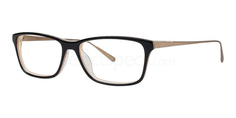Black SAGITTA Glasses, Vera Wang Luxe