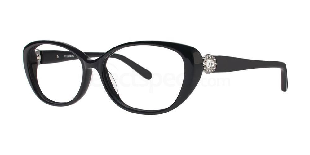 Black SESKA Glasses, Vera Wang Luxe