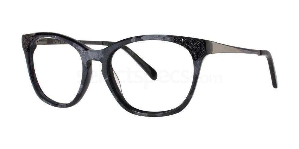 Black SORAYA Glasses, Vera Wang Luxe