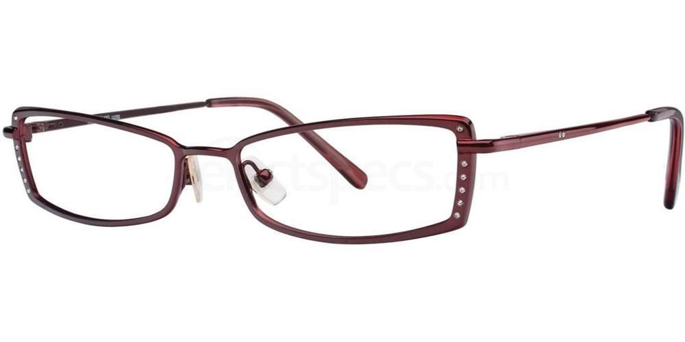 Bordeaux TRILOGY I Glasses, Vera Wang Luxe