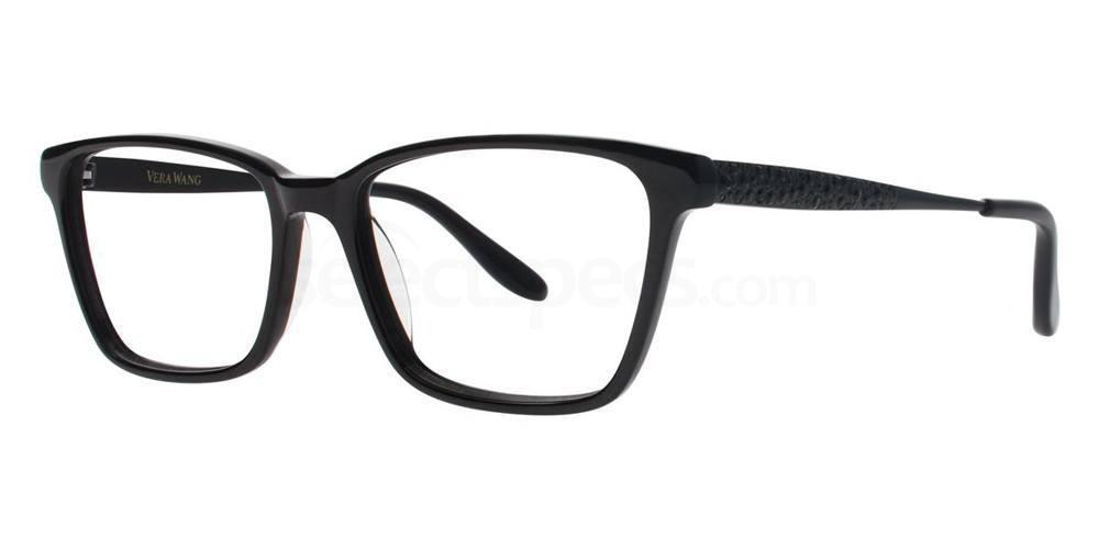 Black TULA Glasses, Vera Wang Luxe