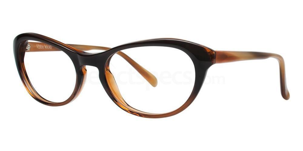 Brown AMARA Glasses, Vera Wang Luxe