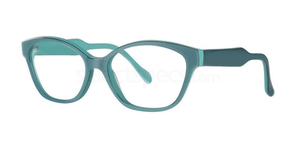 Acadian Green ODELLE Glasses, Vera Wang Luxe