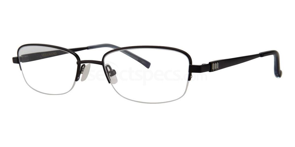 Black AGLAIA Glasses, Vera Wang Luxe