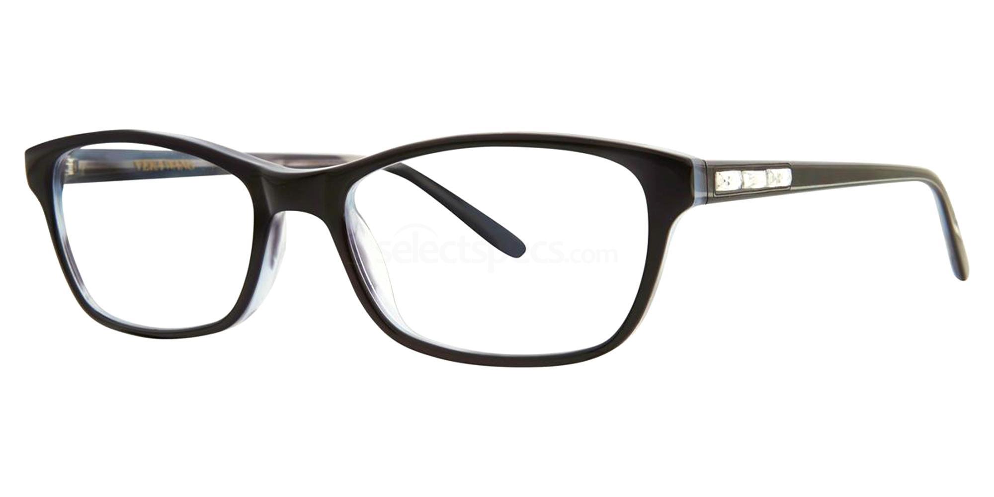 Black PADME Glasses, Vera Wang Luxe