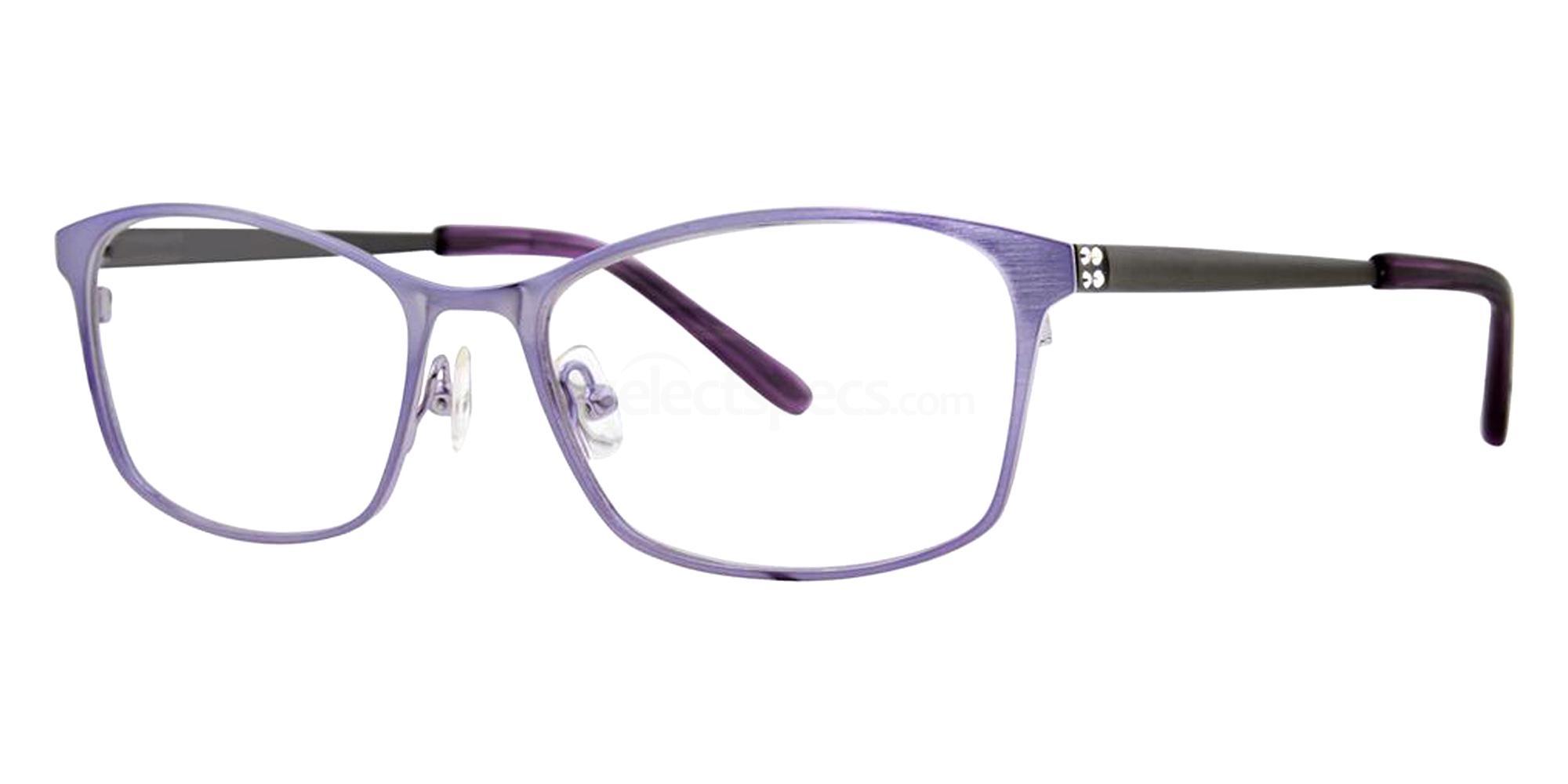 Amethyst BRYSTAL Glasses, Vera Wang Luxe