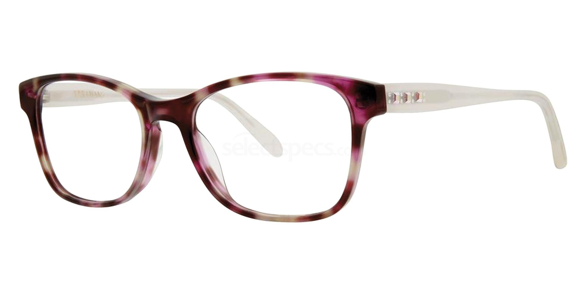 Amethyst Tortoise KAMI Glasses, Vera Wang Luxe