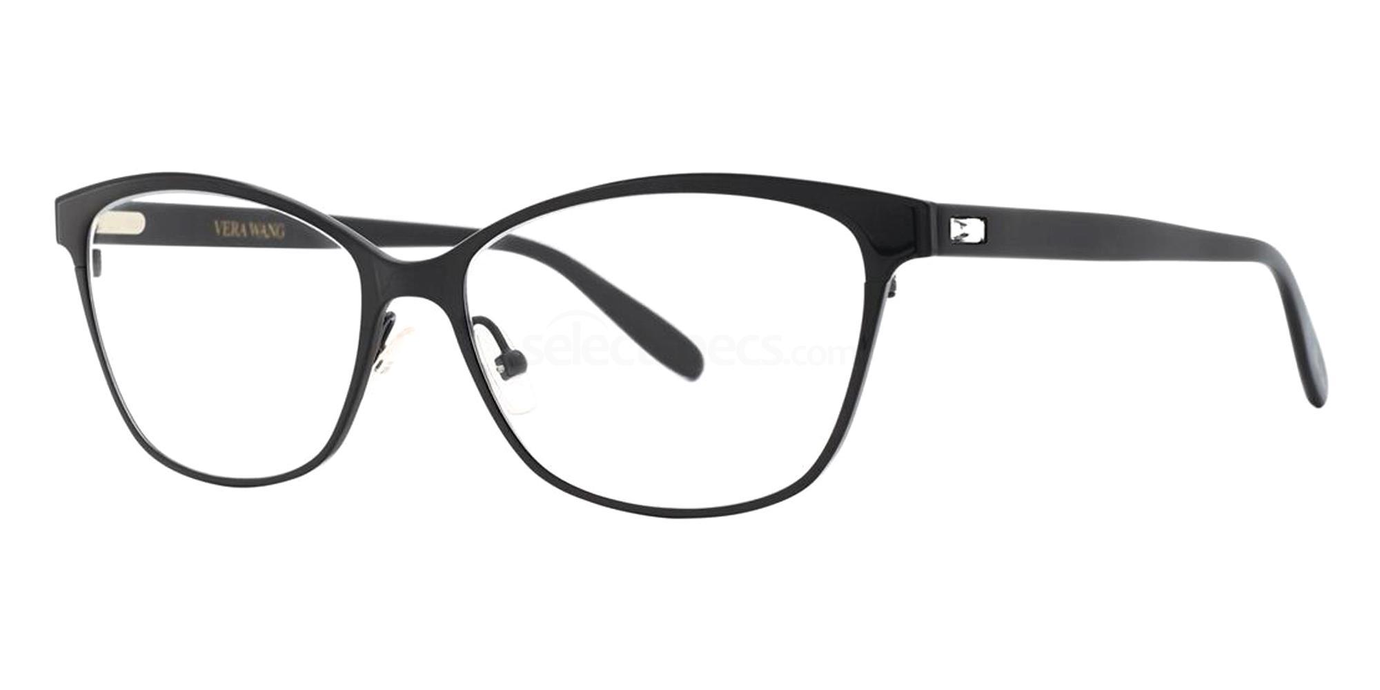 Black LEYHA Glasses, Vera Wang Luxe