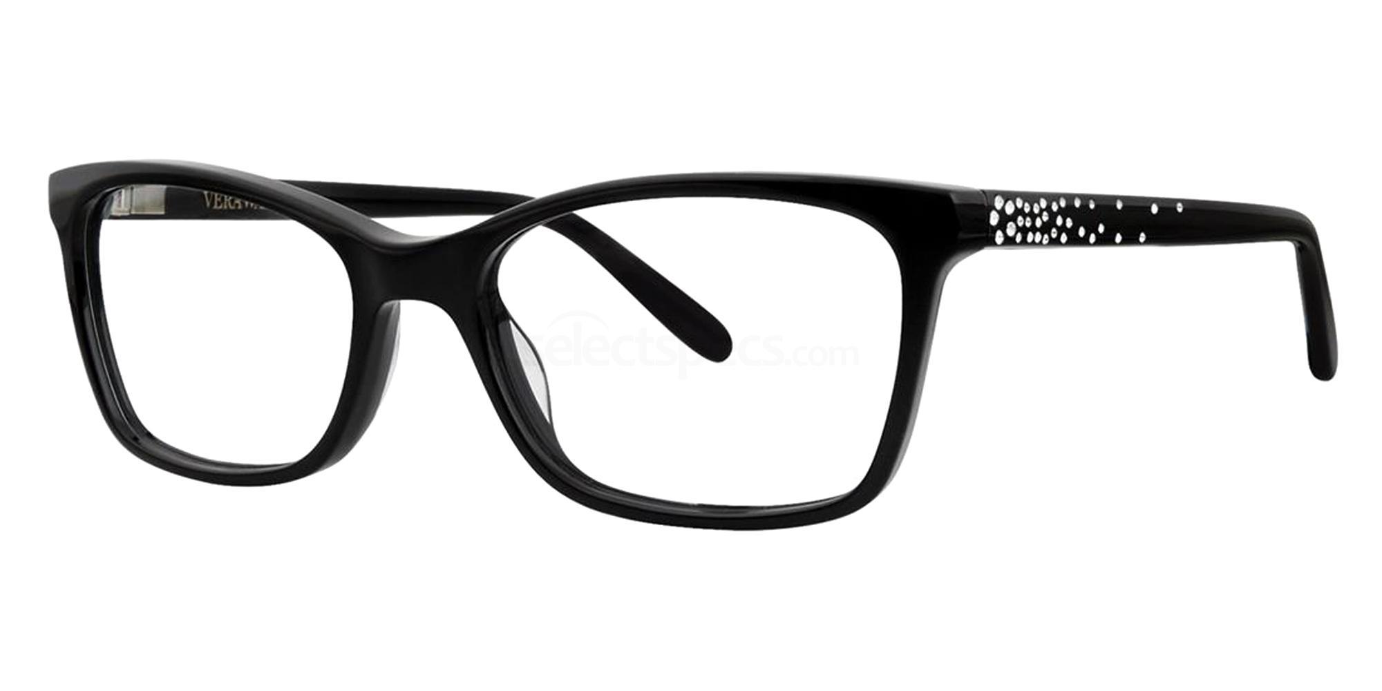 Black SILVIA Glasses, Vera Wang Luxe