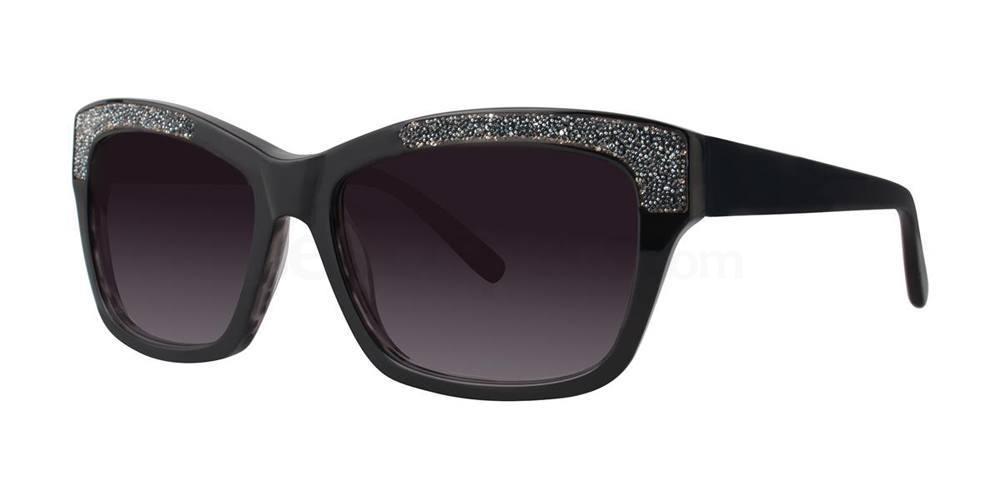 Black ACANTHA Sunglasses, Vera Wang Luxe